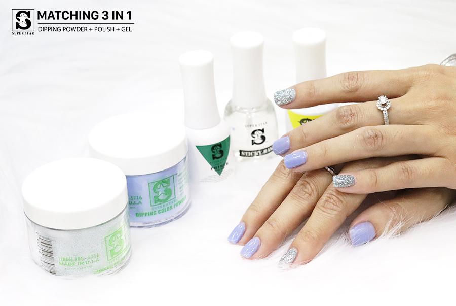 Những lợi ích mà bột nhúng nail mang lại