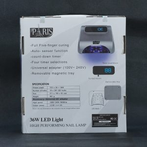 Đèn hơ gel Paris LED LAMP
